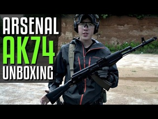 Arsenal SLR-104 AK74 Unboxing - And Shooting