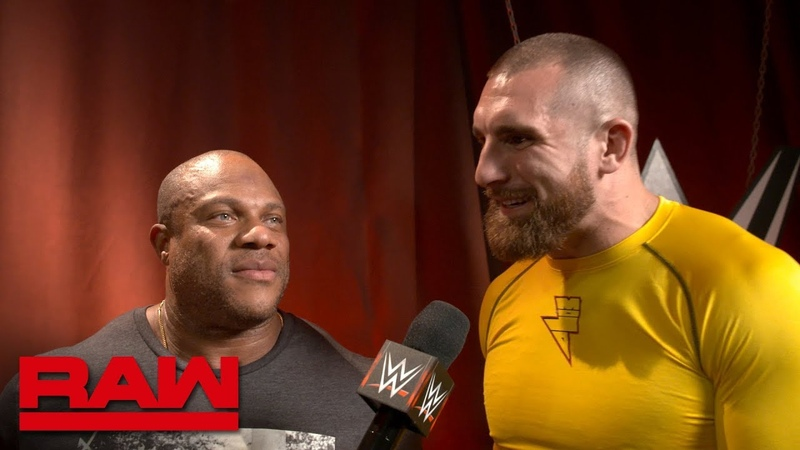 Seven Time Mr Olympia Phil Heath drops in on Raw Raw Exclusive Sept 24 2018
