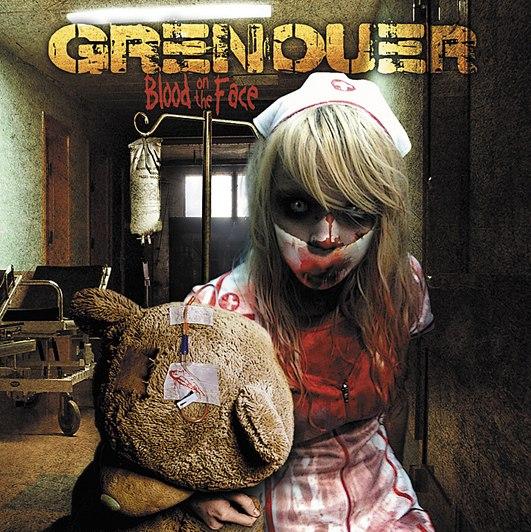Подробности нового альбома GRENOUER - Blood On The Face (2013)