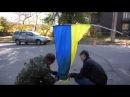 Говно и в воде не тонет, и в огне не горит - Укропский флаг