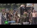 Россия наводнение 20 08 2013 в Хабаровске вода начинает прибывать