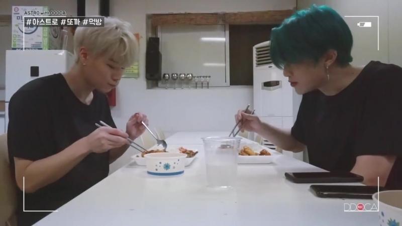 [ASTRO DDOCA] 아스트로 또까 in MV 촬영장