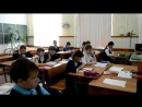Подарок Учителям на День Учителя от выпускников 9А и 11А классов. 2017 год.