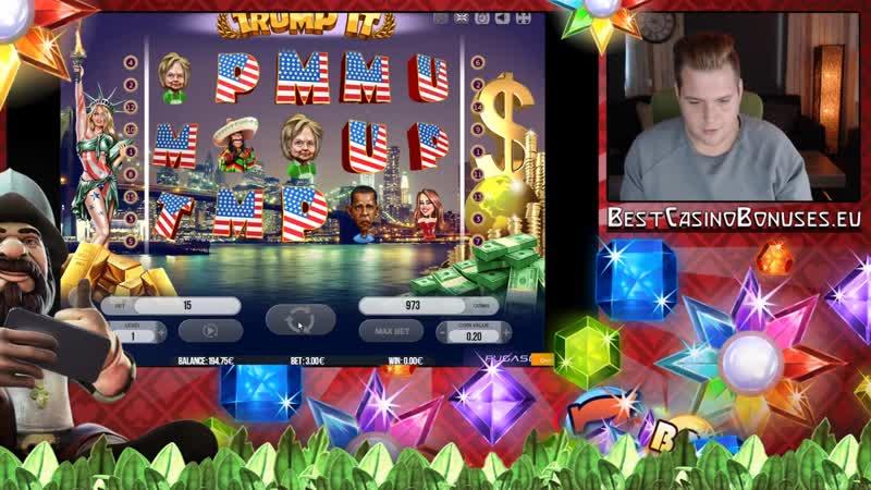 Casino Superlines Trump It Fugaso Gambling Software Big Win on Live Stream