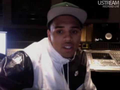 Chris Brown Live on Ustream 04/01/10 01:40AM Part 2