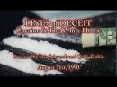 Lines of Deceit Cocaine and The White House