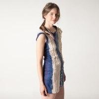 Для создания платья принести с собой: - шерсть 16 мк.  - 150 грамм (можно 18 мк, но лучше 16!) - шелк-газ или...
