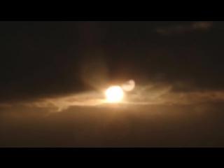 Два Солнца в 8:48 утра в Лондоне - Нибиру? записано 13 января 2018