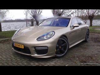 Porsche Panamera Turbo S w/ TechArt Exhaust - REVS & Exhaust SOUND!