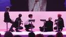 방탄소년단이 기자간담회 중 바닥에 앉은 이유는? | BTS MAP OF THE SOUL : PERSONA Global Press Conference