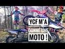 YCF M'A DONNÉ UNE BIGY 150 MX FACTORY 🔥 CROSS ENDURO RIDER GIRL 👄 NOUVELLE MOTO 2 🏍
