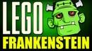 Франкенштейн Лего Брик Хедс Как сделать лего фигурку Франкенштейна Lego BrickHeadz Frankenstein