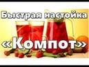 Быстрая настойка «Компот» - Самогонщик Тимофей