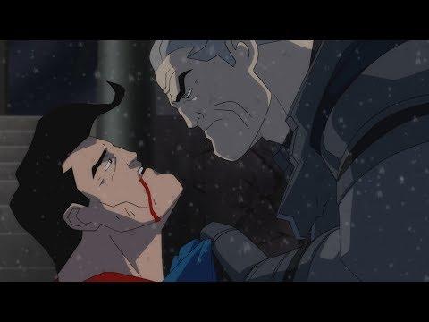 Бэтмен против Супермена. Темный рыцарь Возрождение легенды. (2013)