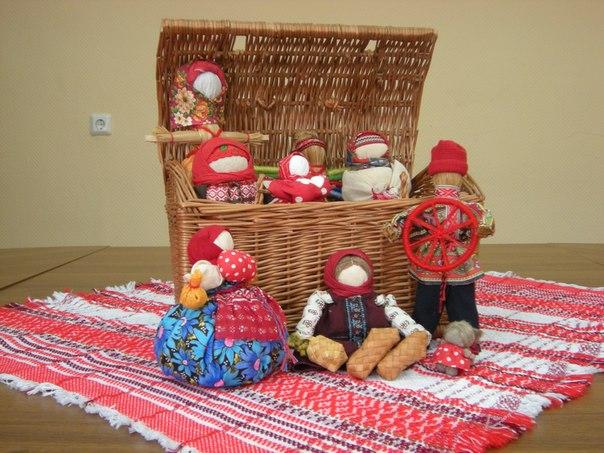 Кукольный сундучок. традиционная народная куПограничник своими руками
