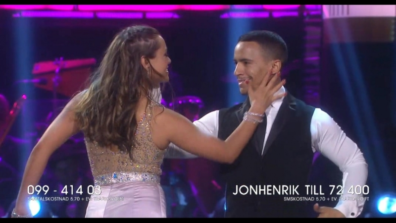 Jon Henrik Fjällgren and Katja Luján Engelholm-American Smooth.(Let s Dance 18.05.2018.)