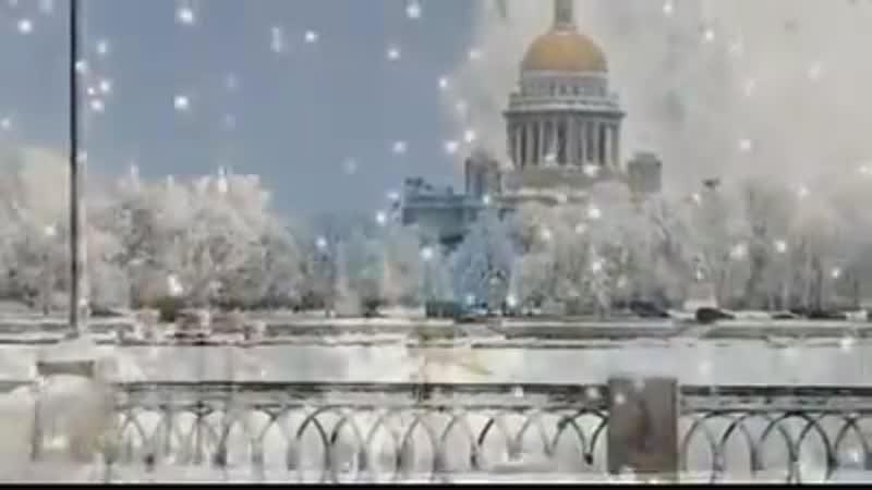 Ух ты Зимняя сказка и очаровательная музыка Р Паулса mp4