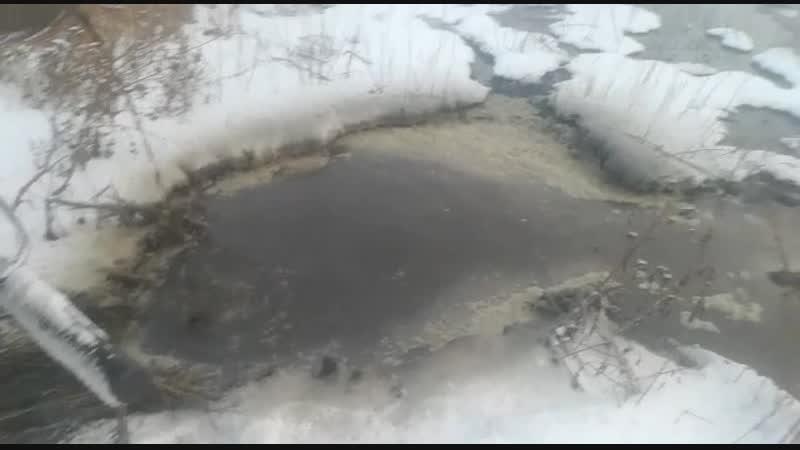 Слив нечистот в Калачинске