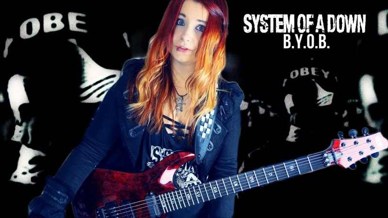 SYSTEM OF A DOWN - B.Y.O.B. [GUITAR COVER] 4K | Jassy J