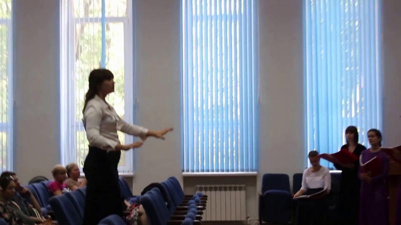 Хор Новороссийского музыкального колледжа (дир. Алёна Воробьёва) -