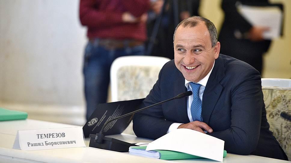 Рашид Темрезов отчитался о доходах за 2017 год