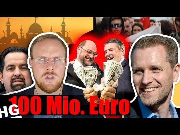 Ist das LEGAL SPD CDU zahlen Islam-Lobby 100 Mio. Euro