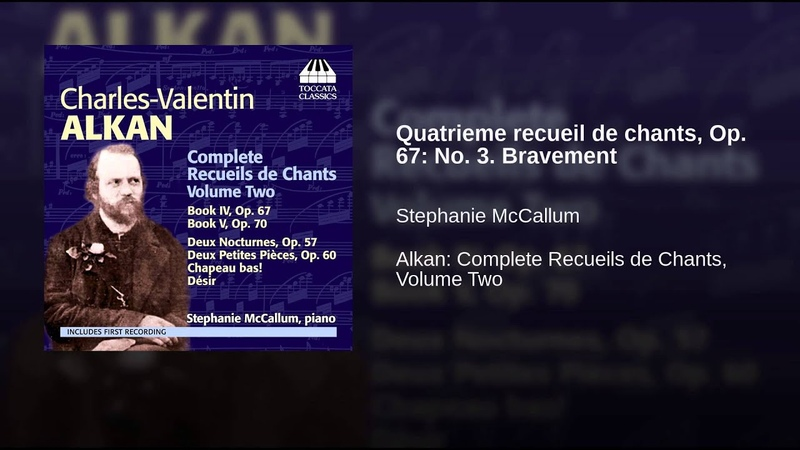 Quatrieme recueil de chants, Op. 67 No. 3. Bravement