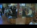 Raw video: Kyle seeks refuge at Tracy health club