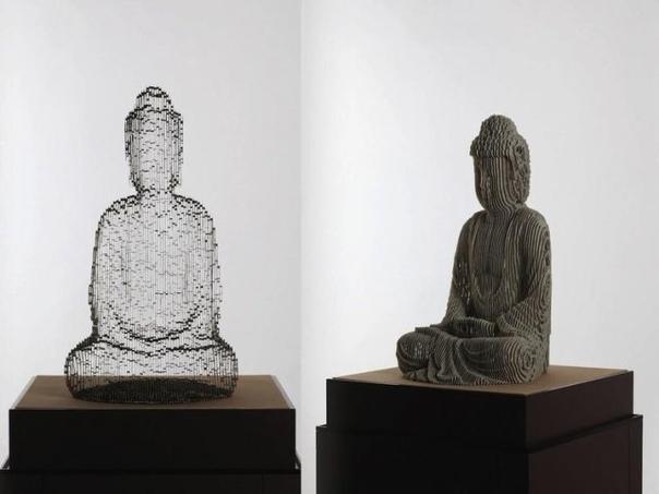 """Необычные скульптуры корейского художника, которые """"растворяются"""" в воздухе"""