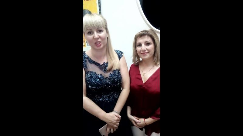 видеоотзыв от жены юбиляра Елены и гостье Юлии!