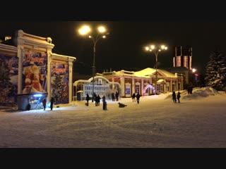 Площадь Ленина 3 января 2019