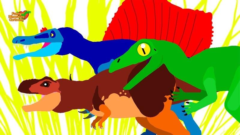 Dinazor Çizgi Film | Komik Dinozorlar - Çizgi Film Animasyon | Funny Dinosaurs Cartoons