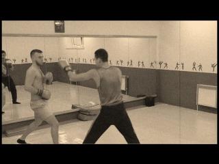 Бокс часть 1 спаринг
