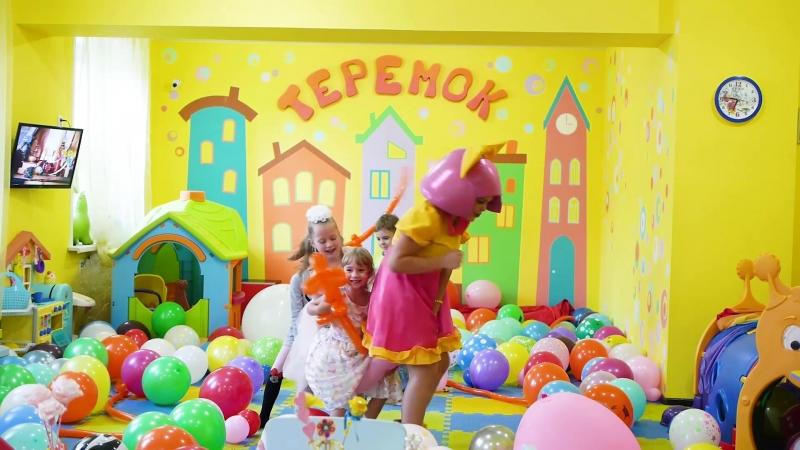 Ролик Шоу Воздушных шаров