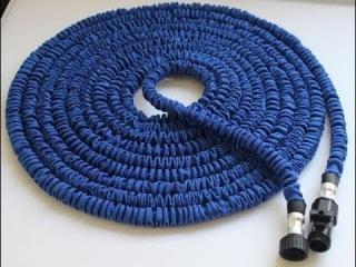 Шланг XHose - (водяной растягивающийся шланг для полива XHose - садовый поливочный шланг который растягивается и удлиняется автоматически) 0