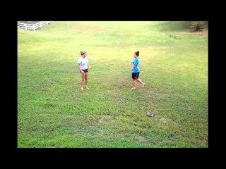 Kayla VS Hannah (stops short?)