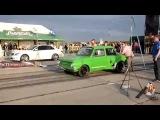 Заз 968 Халк против Mersedes Benz C63 AMG  Драг рейсинг и гонки на машинах