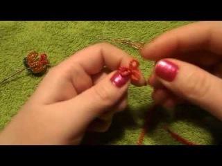 Дерево из бисера | Пестик для цветка | Мастер класс № 5