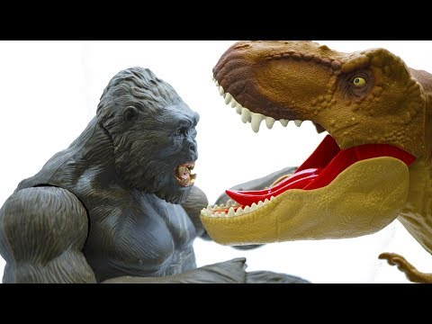 Toys Story Full Episodes: Power Rangers VS KING KONG RAMPAGE Attack Cookie Fun Toy Kids 9