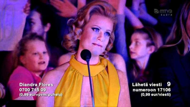 Diandra Flores - I will always love you. (idols 2012)