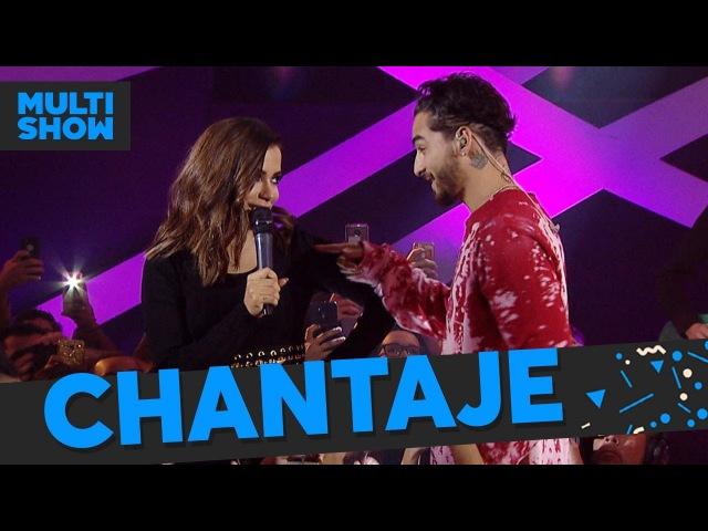 Borro Cassette Chantaje | Anitta Maluma | Música Boa Ao Vivo