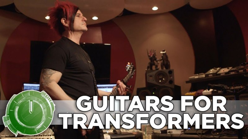Celldweller Production - Guitars for Transformers: The Last Knight
