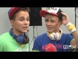 Сюжет со съемок клипа братьев Борисенко на песню
