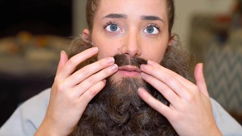 Я СТАЛА БОРОДАТОЙ Как отрастить бороду !- Дженна Марблс