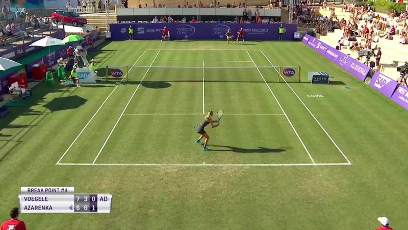 «Great play from Vika7 to save the break point!