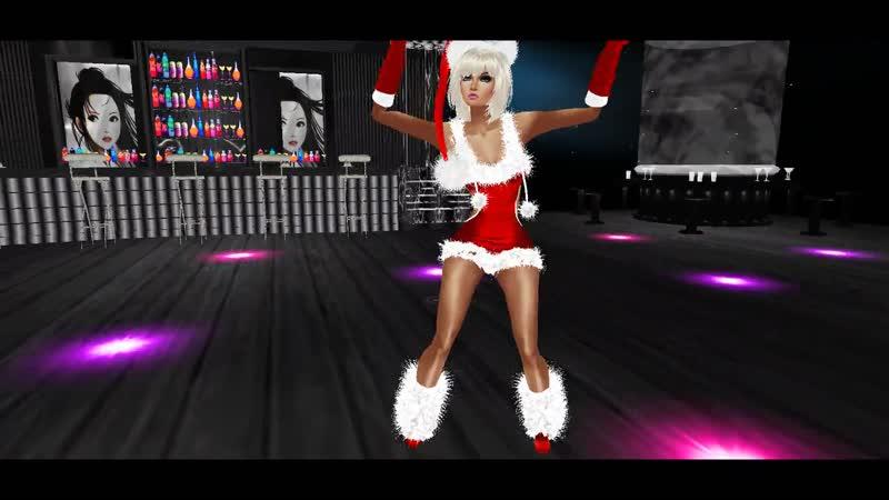 IMVU -18 Game. - с Новым Годом! в Клубе Танец. HD - Full 1080p.