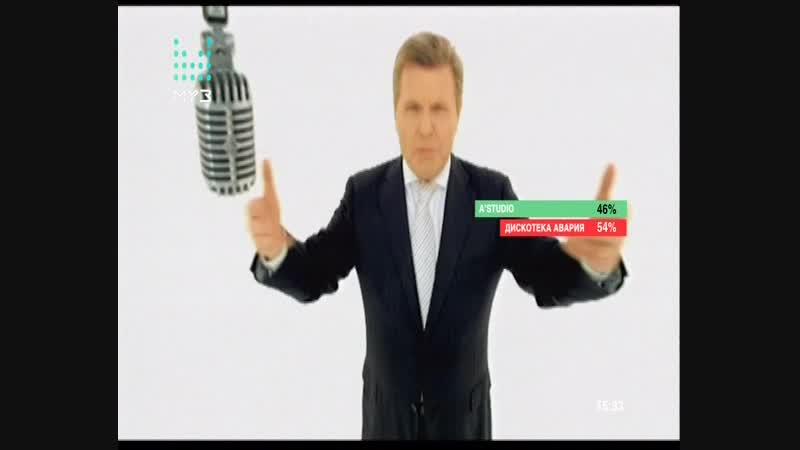Дискотека Авария - Арам зам зам (Битва Фанклубов, Муз-ТВ)