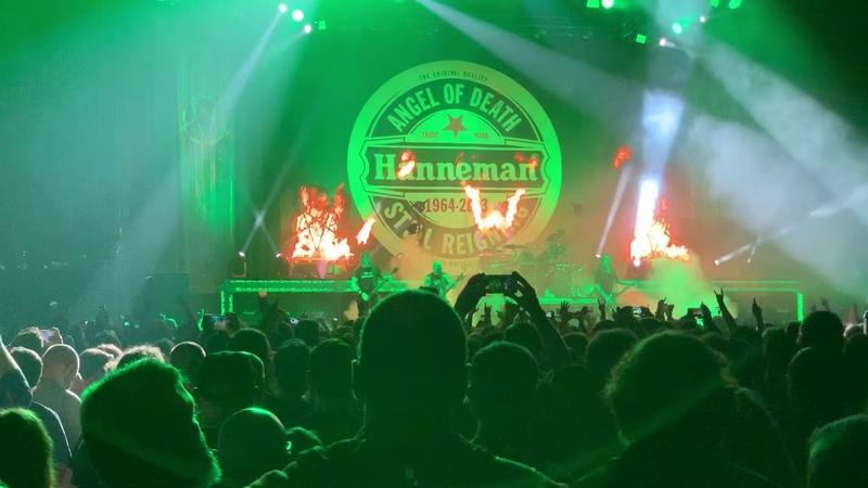 Slayer - Angel Of Death @ Wien (Wiener Stadthalle) live 23.11.2018