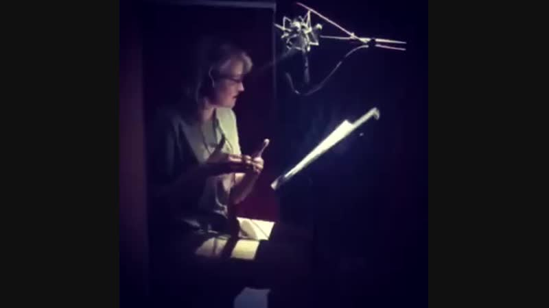 Sneak peek from our recording session behind the scenes with reallucylawless We are SO thrilled lucylawless narrated the 'soon