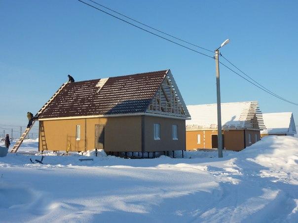 Фото: строительство дома цена в новосибирске